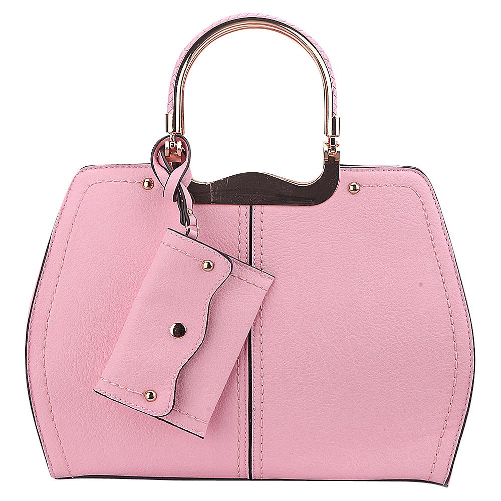 MKF Collection by Mia K. Farrow Aaliyah Handbag Pink - MKF Collection by Mia K. Farrow Manmade Handbags - Handbags, Manmade Handbags