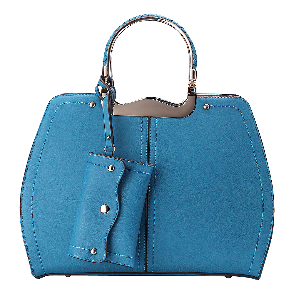 MKF Collection Aaliyah Handbag Turquoise - MKF Collection Manmade Handbags - Handbags, Manmade Handbags