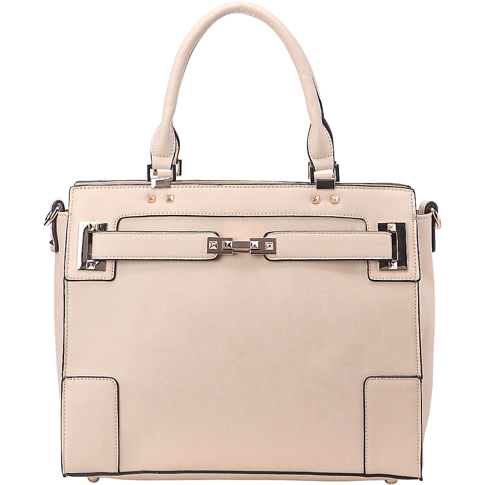 MKF Collection Surrey Handbag Beige - MKF Collection Manmade Handbags - Handbags, Manmade Handbags