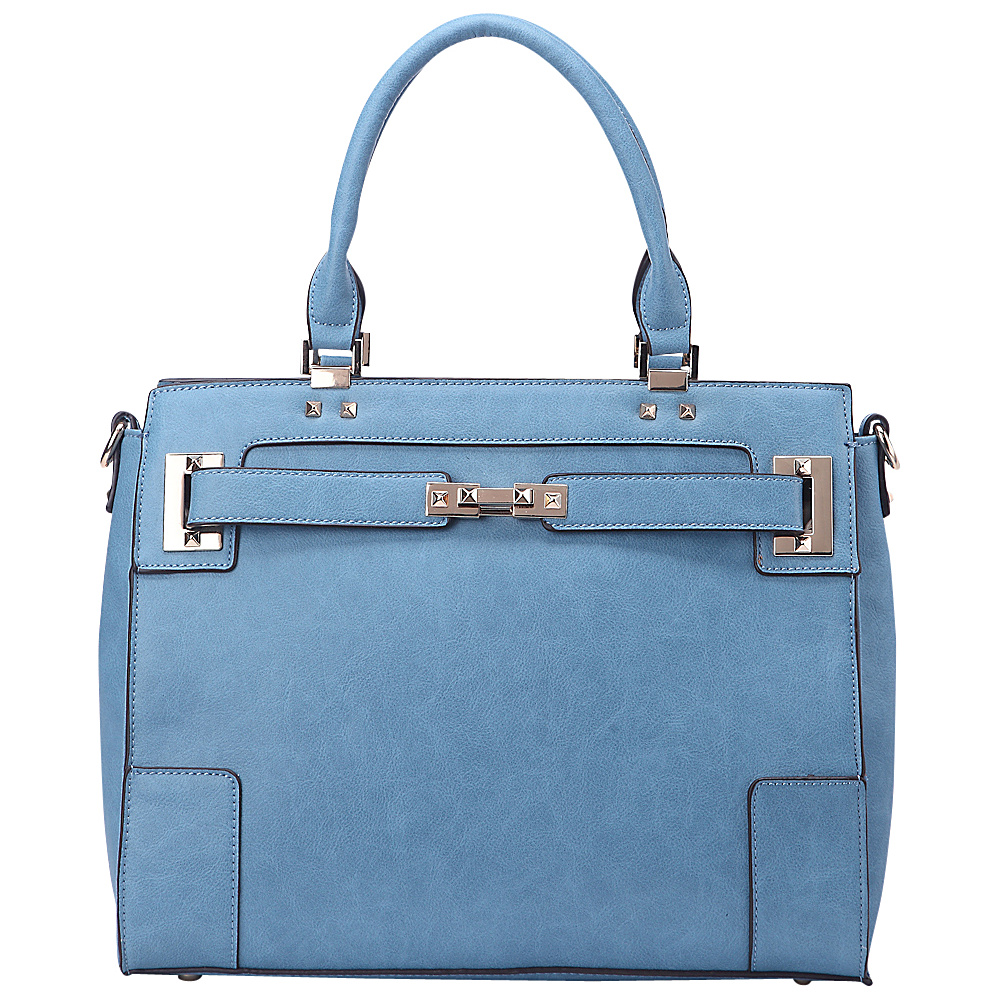 MKF Collection Surrey Handbag Blue - MKF Collection Manmade Handbags - Handbags, Manmade Handbags