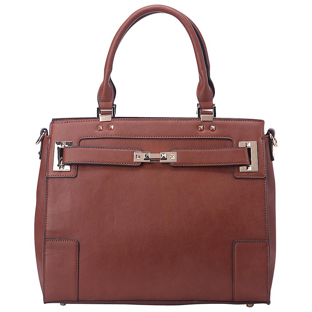 MKF Collection by Mia K. Farrow Surrey Handbag Brown - MKF Collection by Mia K. Farrow Manmade Handbags - Handbags, Manmade Handbags