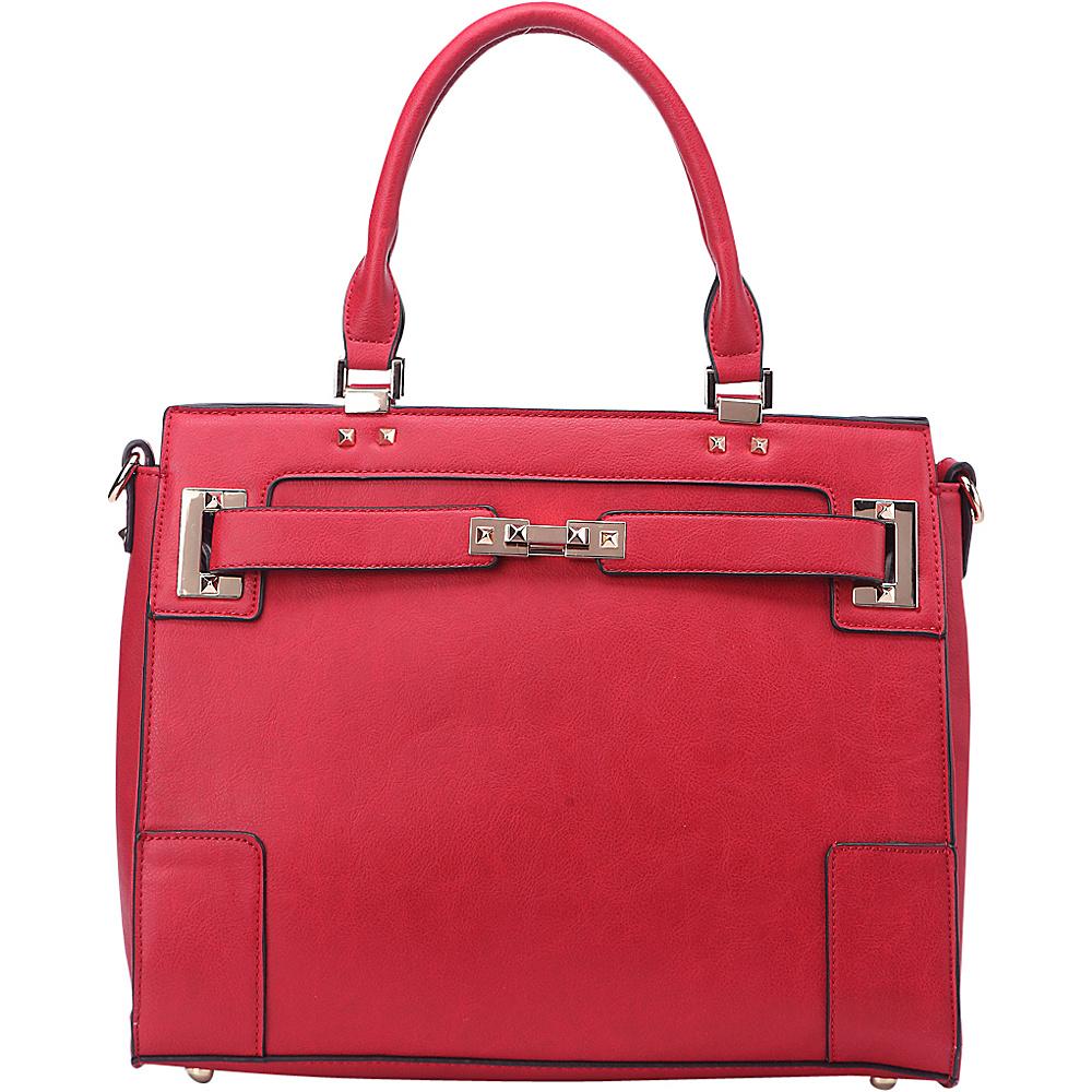 MKF Collection by Mia K. Farrow Surrey Handbag Red - MKF Collection by Mia K. Farrow Manmade Handbags - Handbags, Manmade Handbags