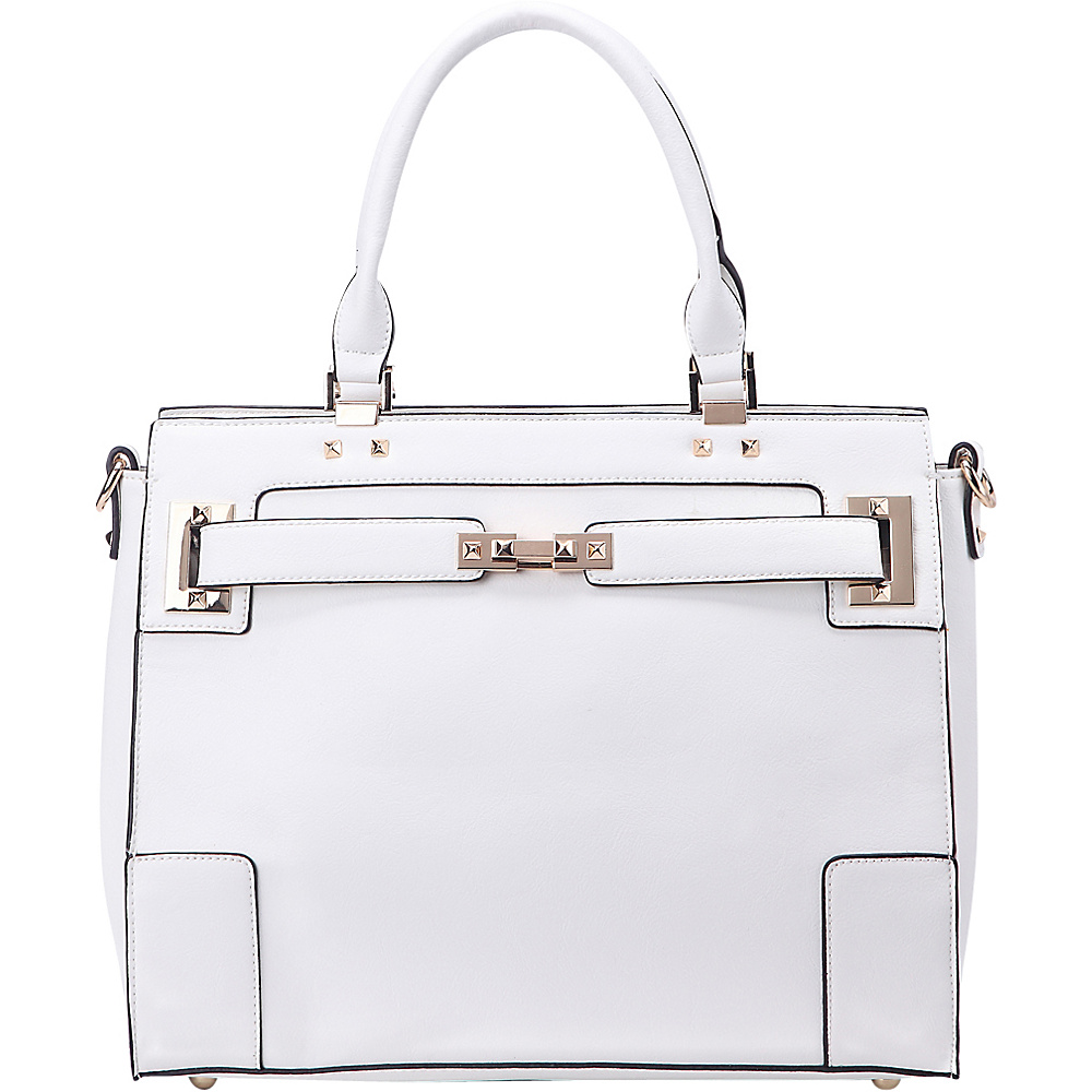 MKF Collection Surrey Handbag White - MKF Collection Manmade Handbags - Handbags, Manmade Handbags