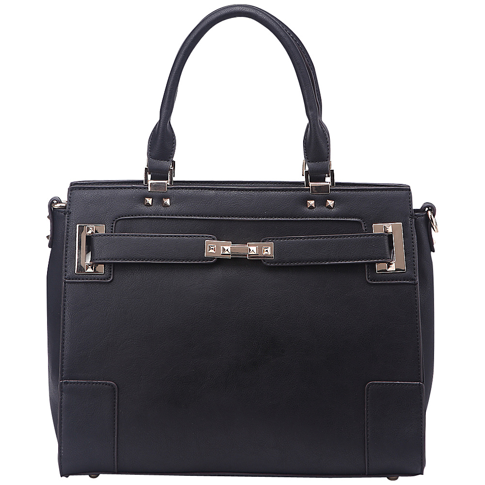 MKF Collection Surrey Handbag Black - MKF Collection Manmade Handbags - Handbags, Manmade Handbags