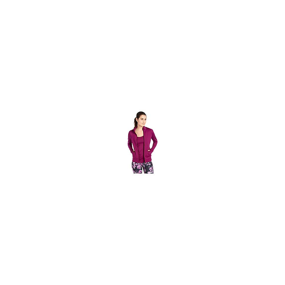 Lole Essential Up Cardigan S - Plum Caspia - Lole Womens Apparel - Apparel & Footwear, Women's Apparel