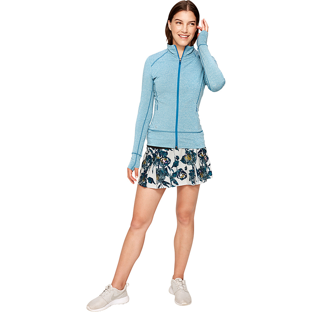 Lole Essential Up Cardigan S - Seaport Heather - Lole Womens Apparel - Apparel & Footwear, Women's Apparel