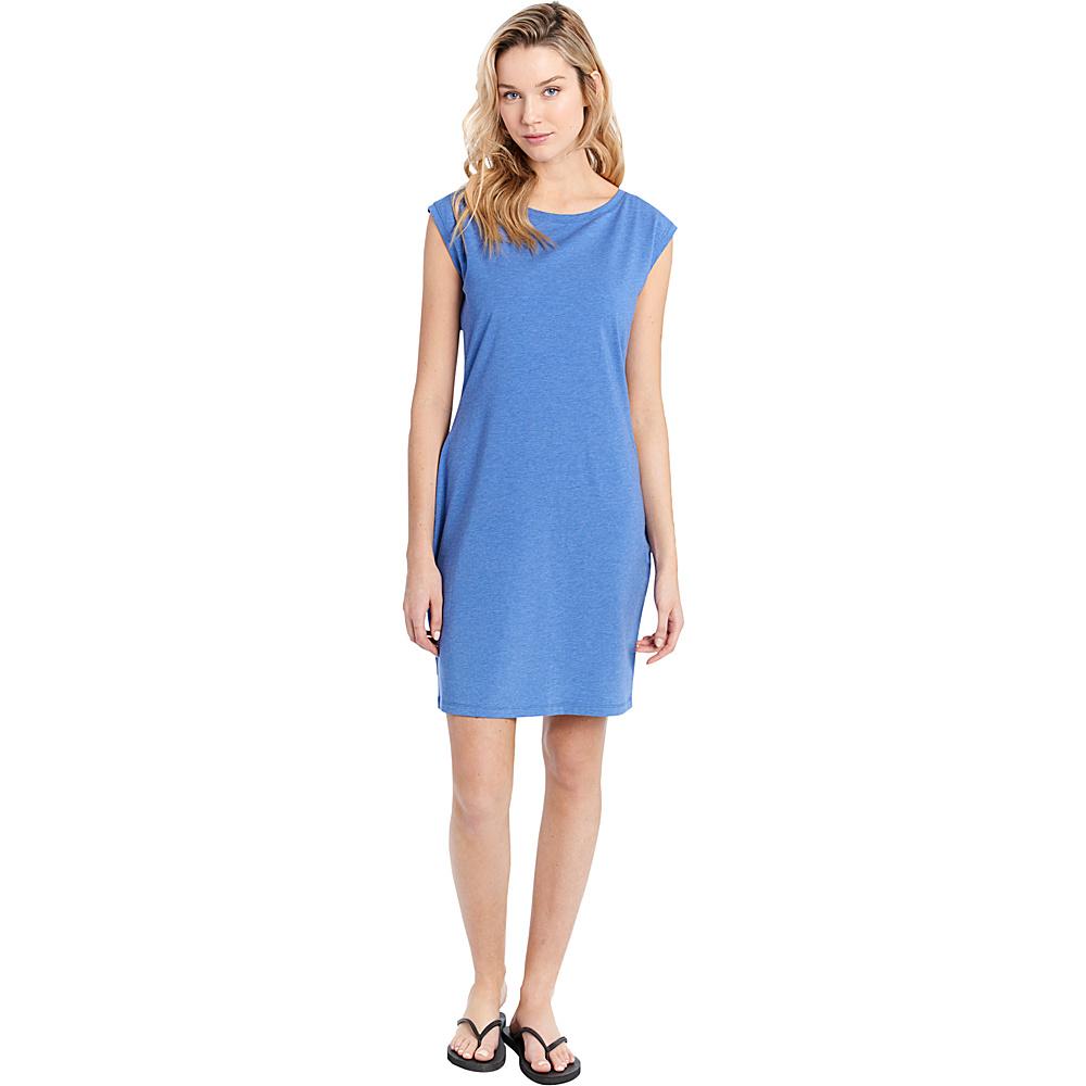 Lole Luisa Dress S - Dazzling Blue Heather - Lole Womens Apparel - Apparel & Footwear, Women's Apparel