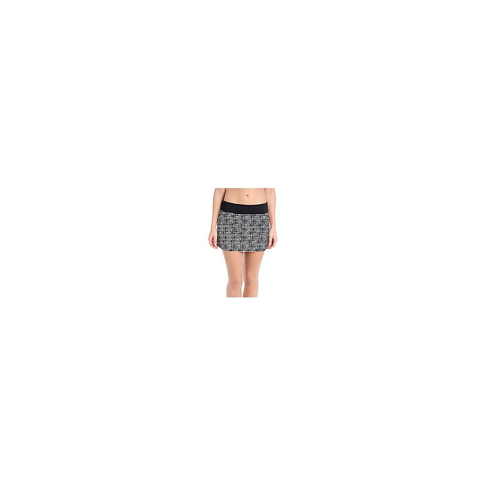 Lole Barcela Skirt S - Black Stripe - Lole Womens Apparel - Apparel & Footwear, Women's Apparel