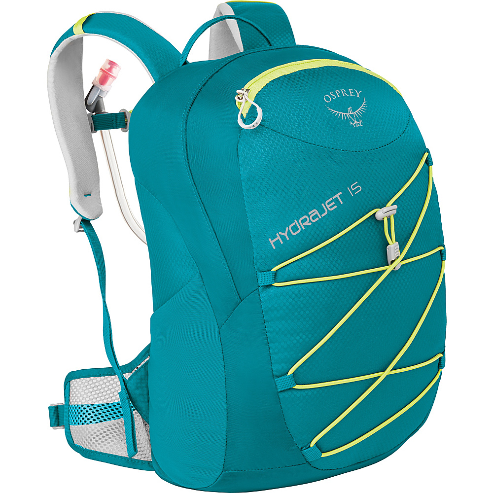 Osprey Kids Hydrajet 15 Pack Real Teal - Osprey Hydration Packs and Bottles - Outdoor, Hydration Packs and Bottles