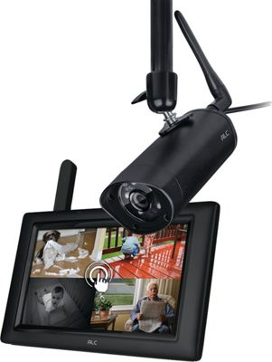 ACL 7 inch Monitor with 1 Camera System Black - ACL Smart Home Automation
