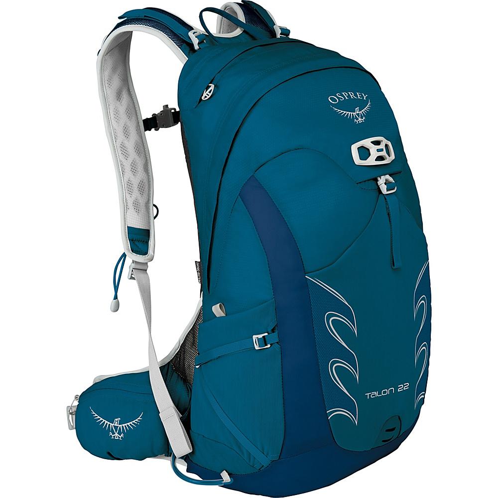 Osprey Talon 22 Hiking Pack Ultramarine Blue – S/M - Osprey Day Hiking Backpacks - Outdoor, Day Hiking Backpacks