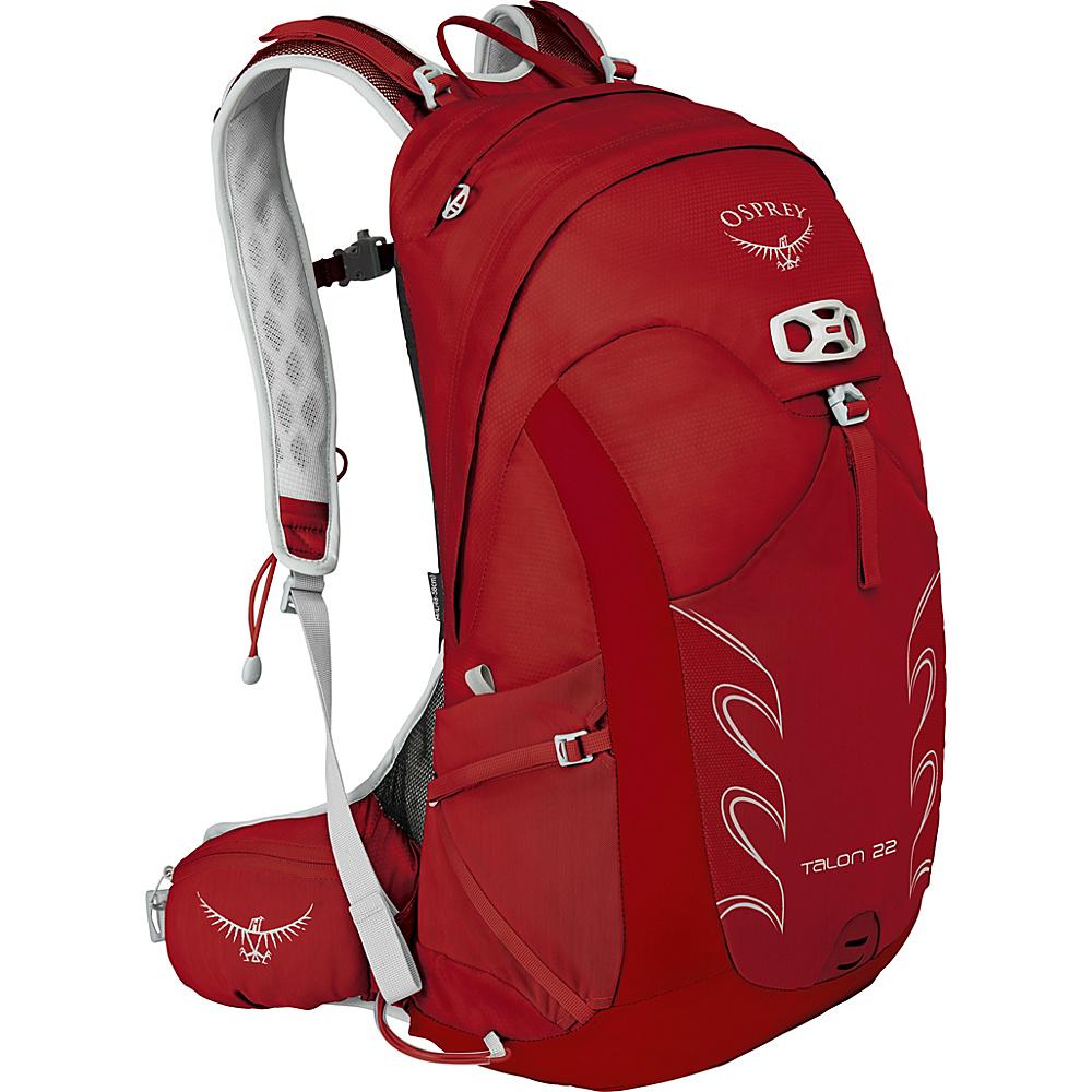 Osprey Talon 22 Hiking Pack Martian Red – M/L - Osprey Day Hiking Backpacks - Outdoor, Day Hiking Backpacks