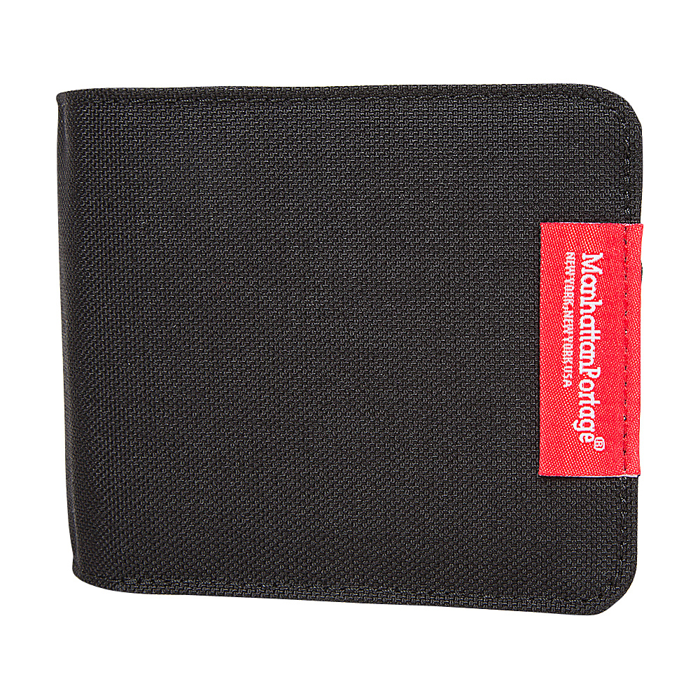 Manhattan Portage William Wallet Black - Manhattan Portage Mens Wallets - Work Bags & Briefcases, Men's Wallets