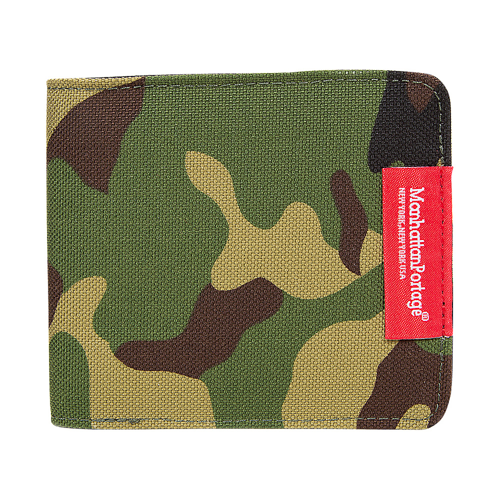 Manhattan Portage William Wallet Camo - Manhattan Portage Mens Wallets - Work Bags & Briefcases, Men's Wallets