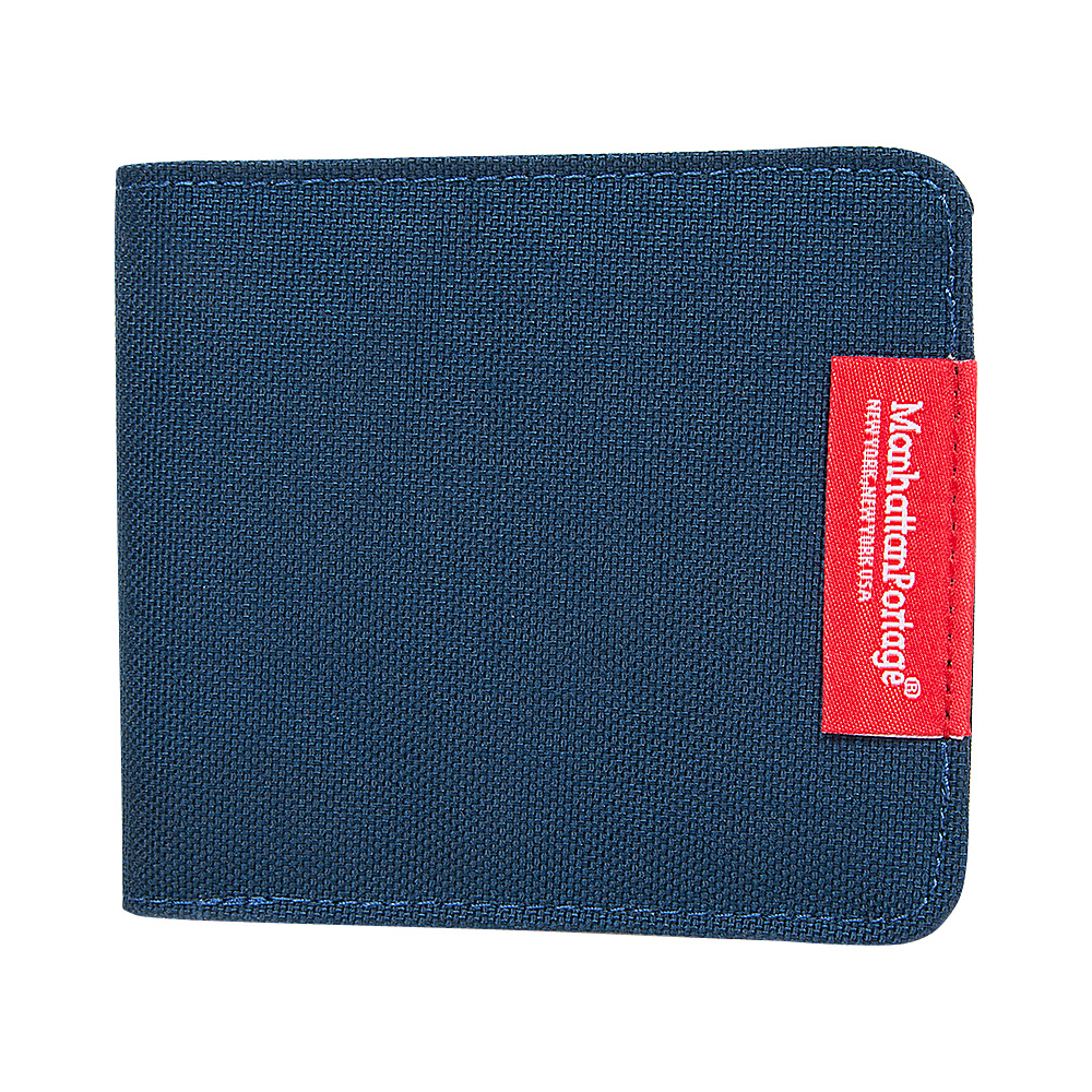 Manhattan Portage William Wallet Navy - Manhattan Portage Mens Wallets - Work Bags & Briefcases, Men's Wallets