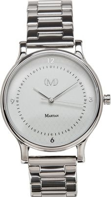 Martian Watches Martian CL 04 Smartwatch Light Grey Dial / Stainless Steel Case / Stainless - Martian Watches Wearable Technology