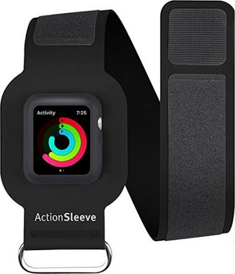 Twelve South ActionSleeve Armband for 42mm Apple Watch Slim Black - Twelve South Wearable Technology