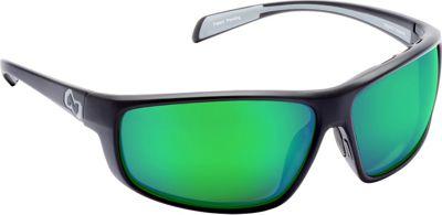 Native Eyewear Bigfork Sunglasses Matte Black with Polarized Green Reflex - Native Eyewear Eyewear