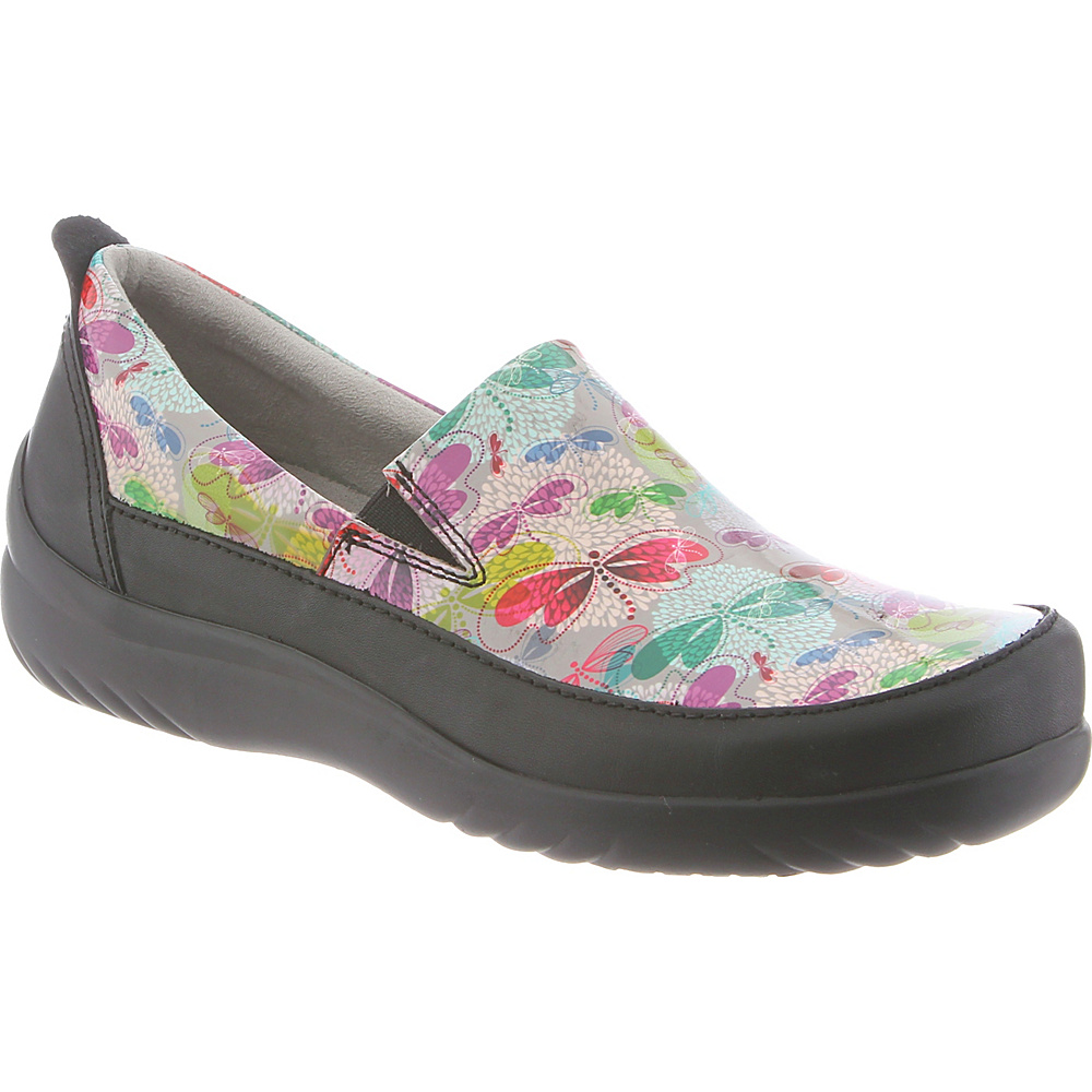 KLOGS Footwear Womens Ashbury 12 - M (Regular/Medium) - Spring Dragonfly Patent - KLOGS Footwear Womens Footwear - Apparel & Footwear, Women's Footwear