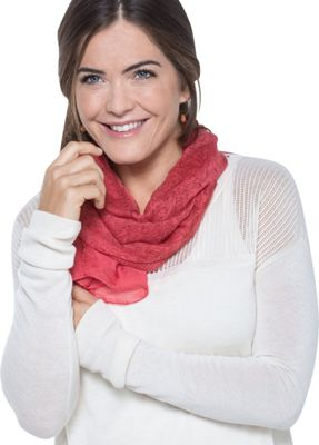 Toad & Co Bandana Print Scarf Spiced Coral - Toad & Co Scarves