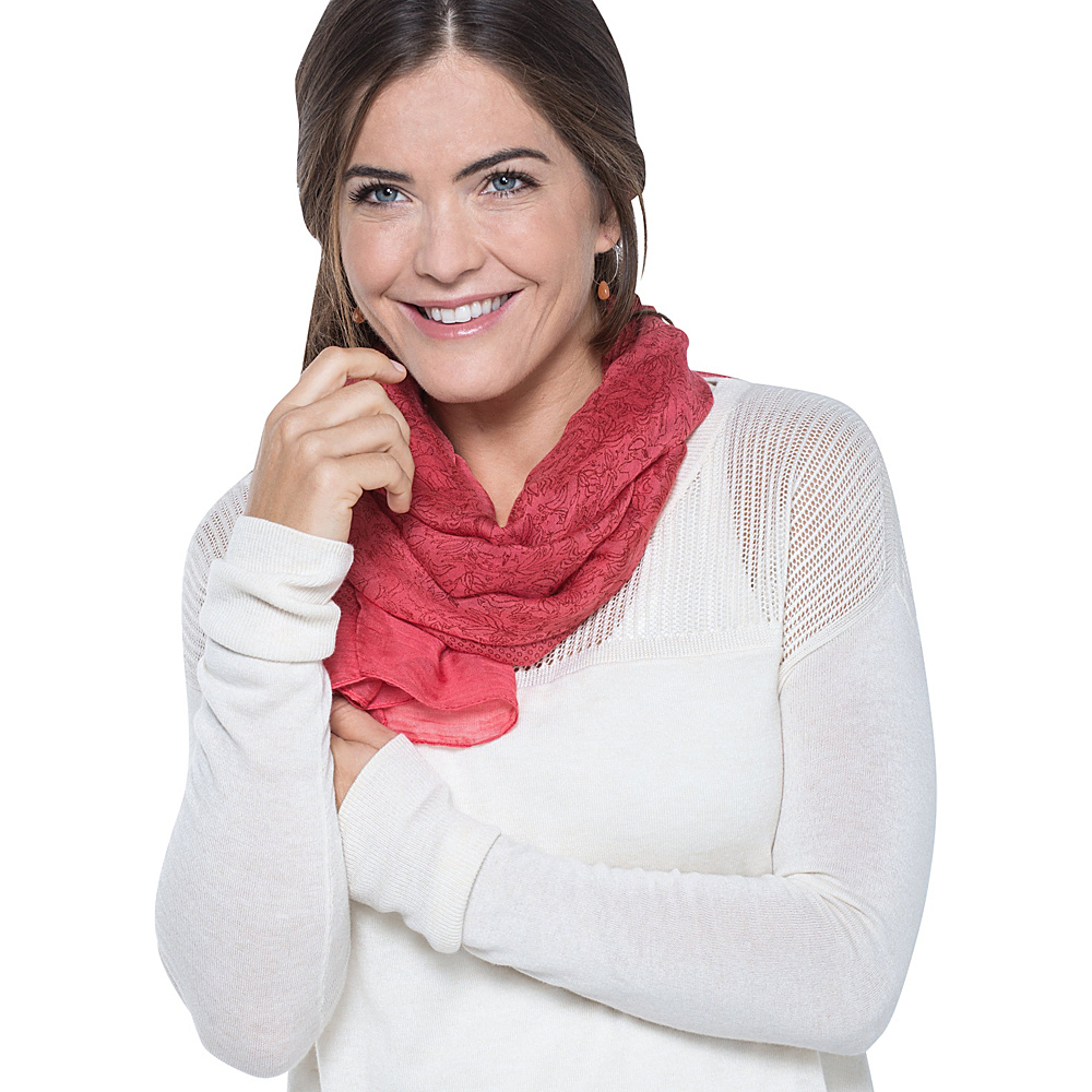 Toad & Co Bandana Print Scarf Spiced Coral - Toad & Co Scarves - Fashion Accessories, Scarves
