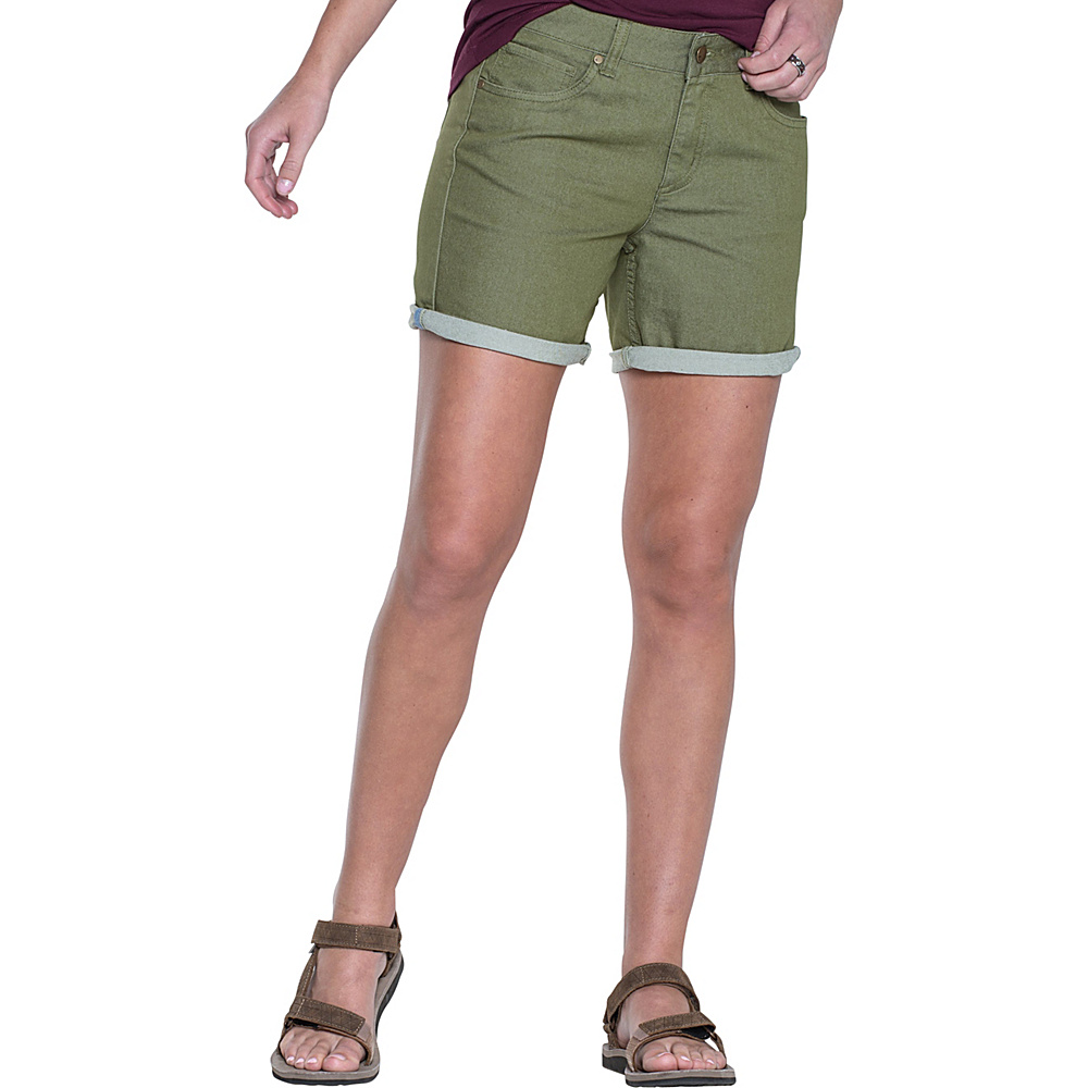 Toad & Co Lola Short 12 - 7in - Juniper - Toad & Co Womens Apparel - Apparel & Footwear, Women's Apparel