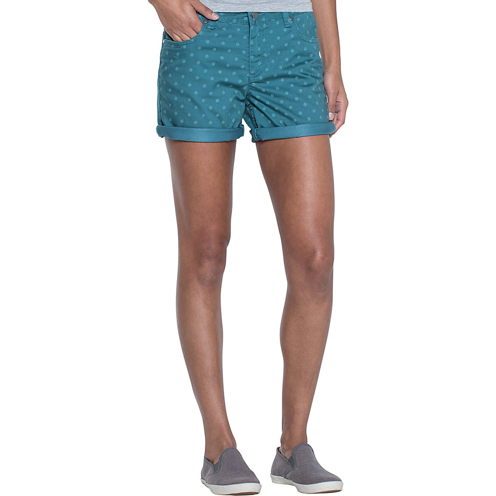 Toad & Co Lola Short 2 - 7in - Hydro Polka Dot Print - Toad & Co Womens Apparel - Apparel & Footwear, Women's Apparel