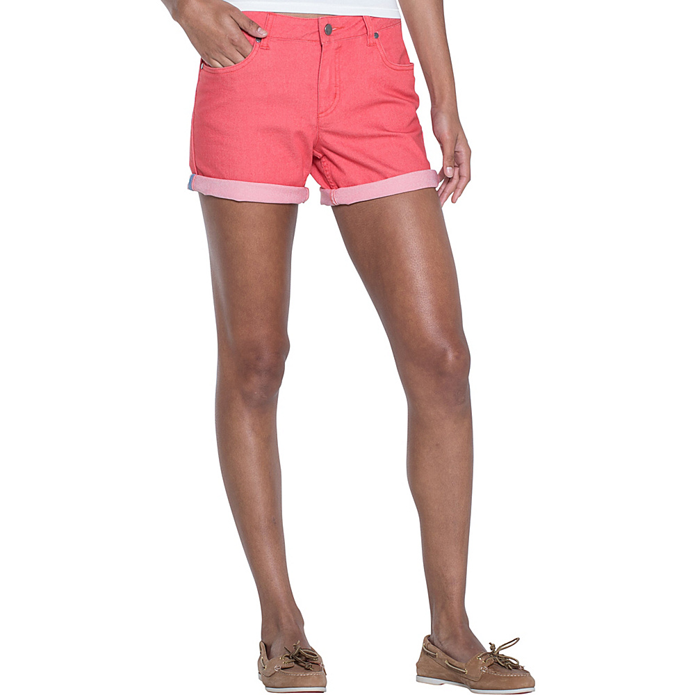 Toad & Co Lola Short 8 - 7in - Spiced Coral - Toad & Co Womens Apparel - Apparel & Footwear, Women's Apparel