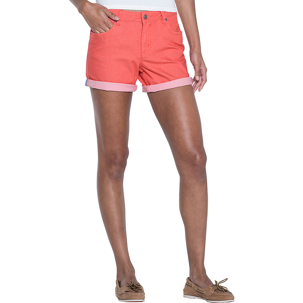 Toad & Co Lola Short 2 - Guava - Toad & Co Womens Apparel - Apparel & Footwear, Women's Apparel