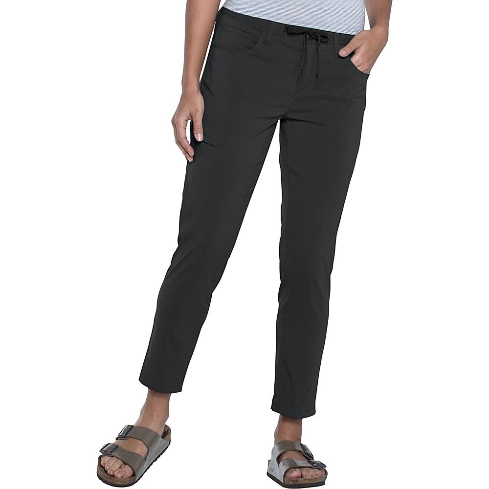 Toad & Co Jetlite Crop Pant 6 - 26in - Black - Toad & Co Womens Apparel - Apparel & Footwear, Women's Apparel