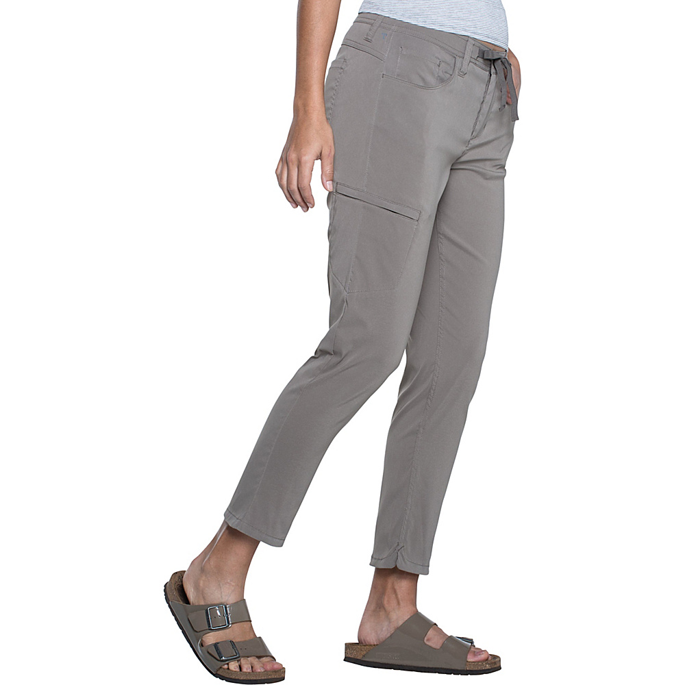 Toad & Co Jetlite Crop Pant 14 - 26in - Falcon Brown - Toad & Co Womens Apparel - Apparel & Footwear, Women's Apparel