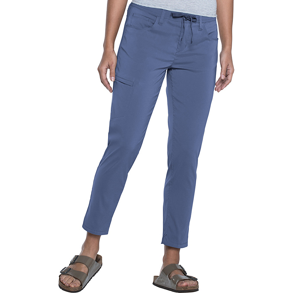 Toad & Co Jetlite Crop Pant 4 - 26in - Indigo - Toad & Co Womens Apparel - Apparel & Footwear, Women's Apparel