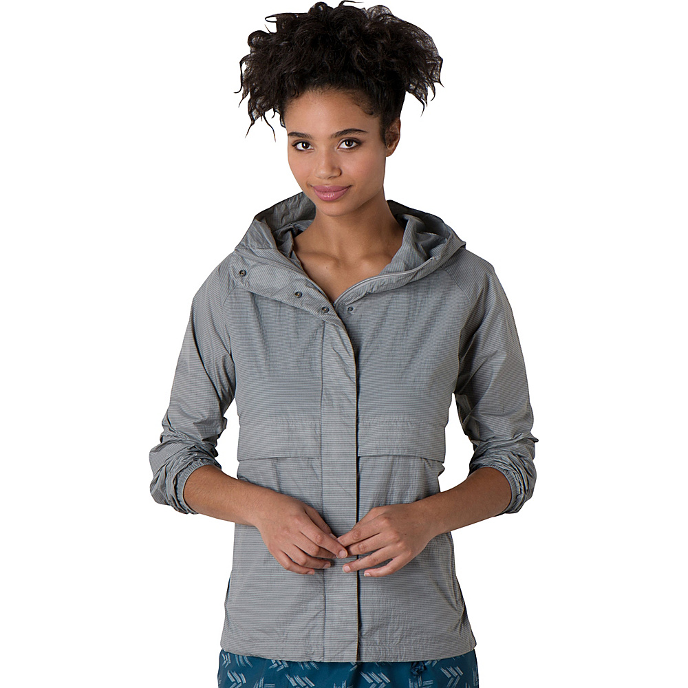 Toad & Co Fly-By-Night Jacket XS - Light Ash - Toad & Co Womens Apparel - Apparel & Footwear, Women's Apparel