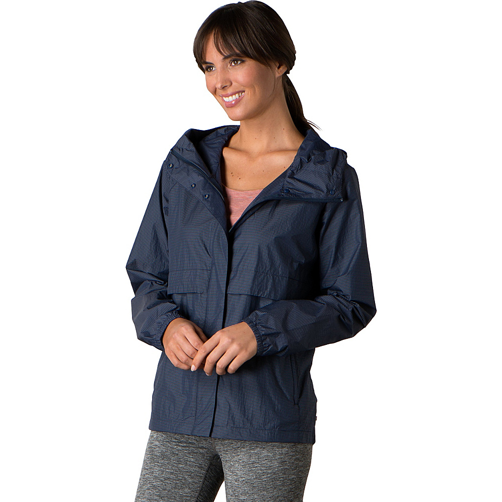 Toad & Co Fly-By-Night Jacket L - Deep Navy - Toad & Co Womens Apparel - Apparel & Footwear, Women's Apparel