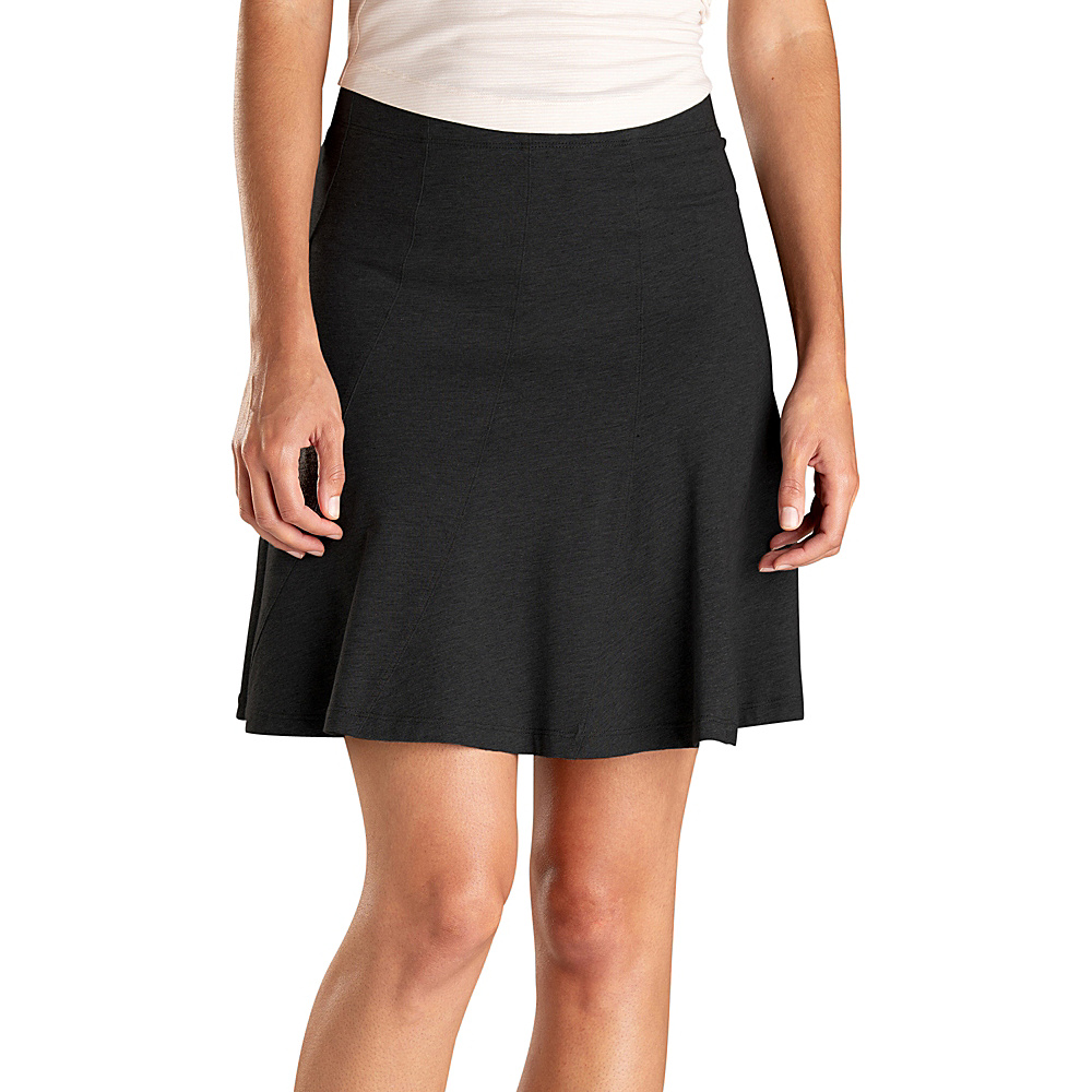Toad & Co Chachacha Skirt XS - Black - Toad & Co Womens Apparel - Apparel & Footwear, Women's Apparel