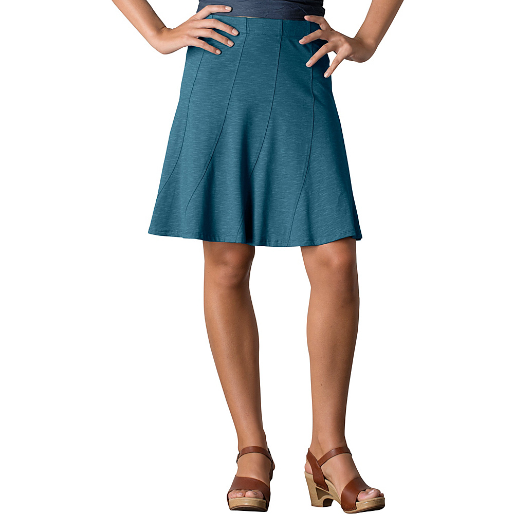 Toad & Co Chachacha Skirt XS - Hydro - Toad & Co Womens Apparel - Apparel & Footwear, Women's Apparel