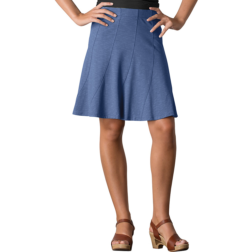 Toad & Co Chachacha Skirt XL - Indigo - Toad & Co Womens Apparel - Apparel & Footwear, Women's Apparel