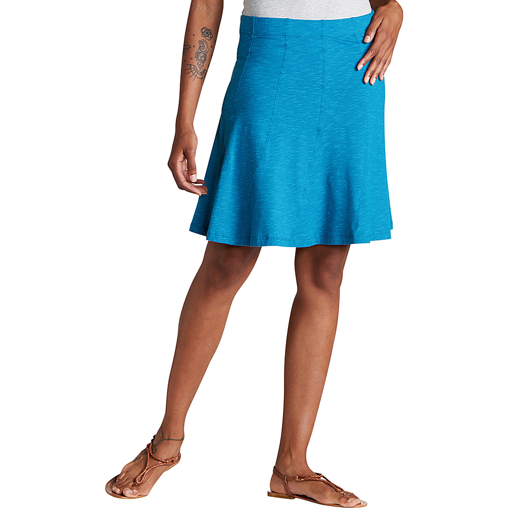 Toad & Co Chachacha Skirt M - Deepwater - Toad & Co Womens Apparel - Apparel & Footwear, Women's Apparel