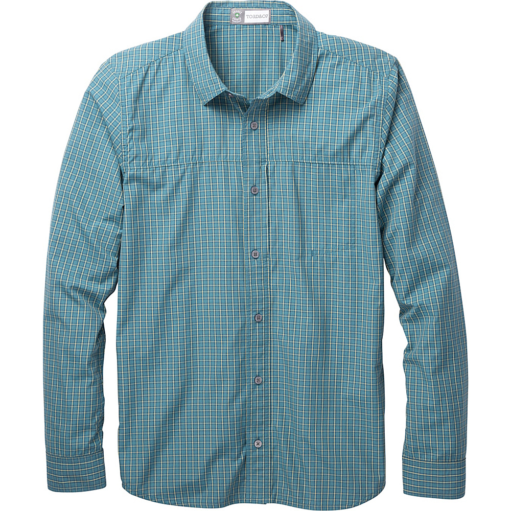 Toad & Co Debug Quick-Dry Long Sleeve Shirt XL - Hydro - Toad & Co Mens Apparel - Apparel & Footwear, Men's Apparel