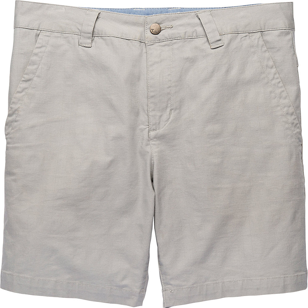 Toad & Co Swerve Short 8 Inch 34 - 8in - Light Ash - Toad & Co Mens Apparel - Apparel & Footwear, Men's Apparel