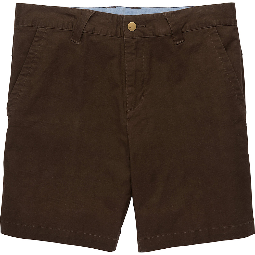 Toad & Co Swerve Short 8 Inch 30 - 8in - Dark Roast - Toad & Co Mens Apparel - Apparel & Footwear, Men's Apparel
