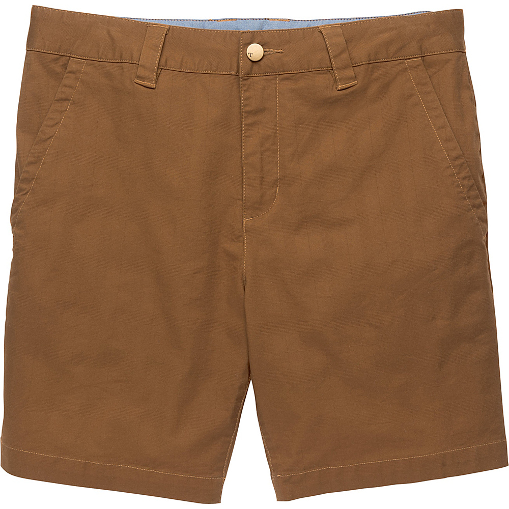 Toad & Co Swerve Short 8 Inch 34 - 8in - Seal Brown - Toad & Co Mens Apparel - Apparel & Footwear, Men's Apparel