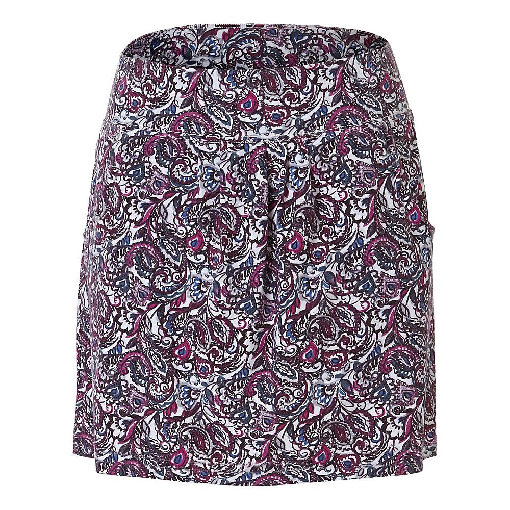 Royal Robbins Womens Essential Tencel Tapestry Pocket Skirt L - Aster - Royal Robbins Womens Apparel - Apparel & Footwear, Women's Apparel