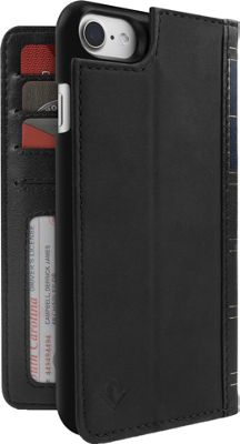 Twelve South BookBook Leather Wallet for iPhone 7 Black - Twelve South Electronic Cases