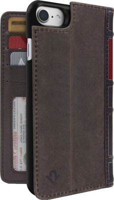 Twelve South BookBook Leather Wallet for iPhone 7 Vintage Brown - Twelve South Electronic Cases