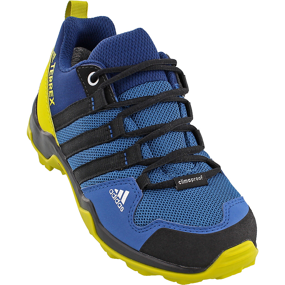 adidas outdoor Kids Terrex AX2R CP Shoe 12 (US Kids) - Core Blue/Black/Unity Lime - adidas outdoor Mens Footwear - Apparel & Footwear, Men's Footwear