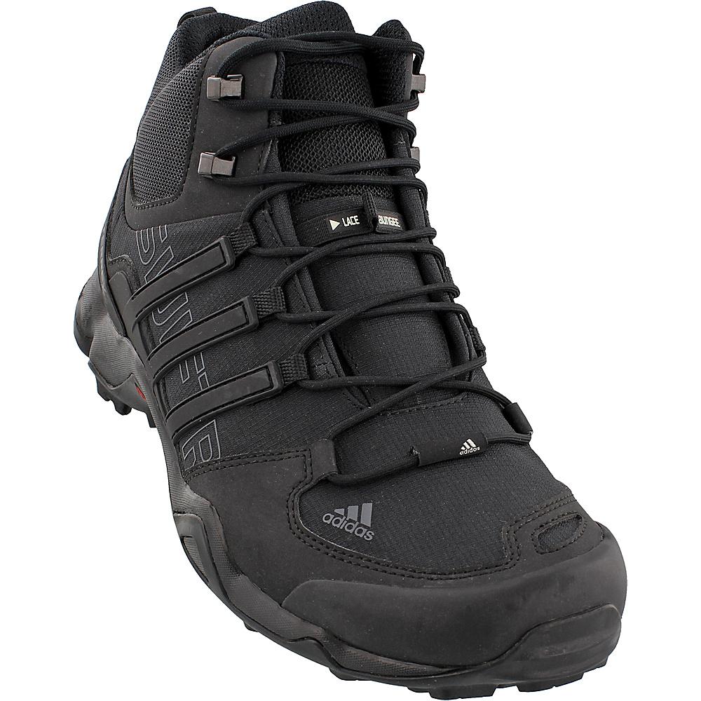adidas outdoor Mens Terrex Swift R Mid Shoe 12 - Black/Black/Dark Grey - adidas outdoor Mens Footwear - Apparel & Footwear, Men's Footwear