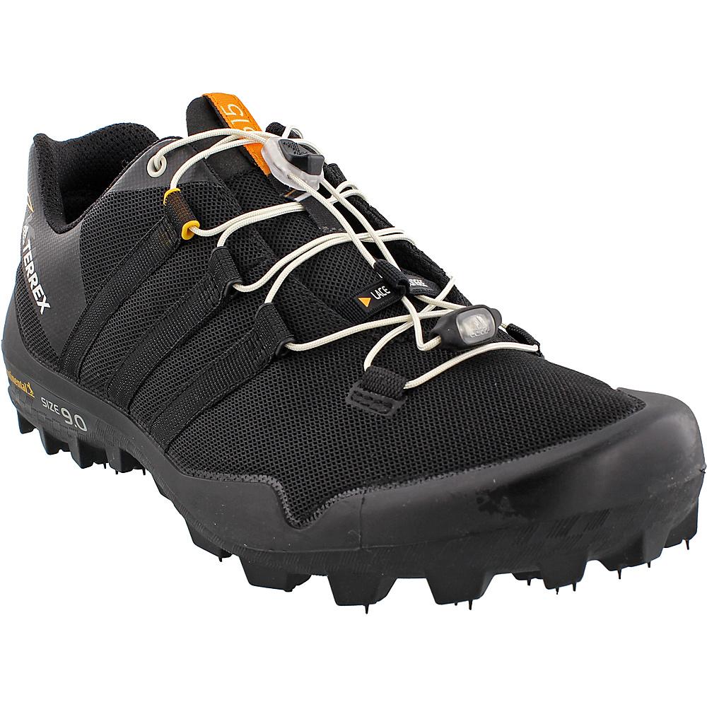adidas outdoor Mens Terrex X-King Shoe 6 - Black/Black/Chalk White - adidas outdoor Mens Footwear - Apparel & Footwear, Men's Footwear