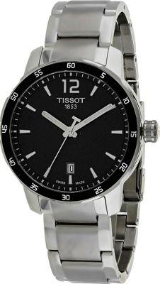 Tissot Watches Men's Quickster Watch Gunmetal - Tissot Watches Watches