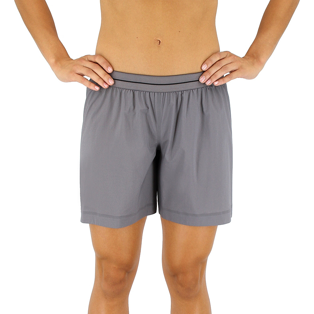 adidas outdoor Womens Terrex Agravic Short XL - 6in - Trace Grey - adidas outdoor Womens Apparel - Apparel & Footwear, Women's Apparel